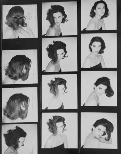 Terence Donovan, 'Margot McKendry, Contact Sheet', 1960s