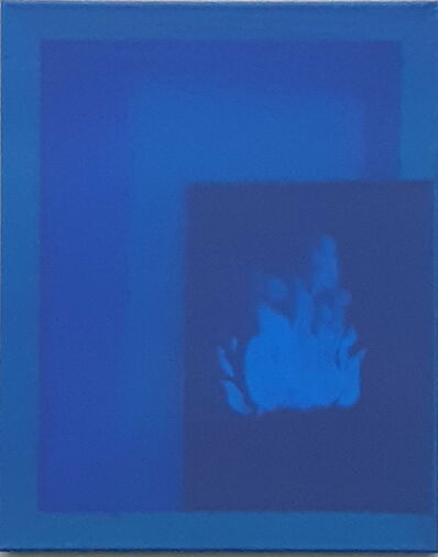 Oscar Figueroa, 'Blue Ghost Fire ', 2019