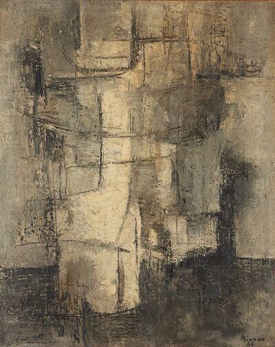 Mario Bionda, 'N. 9 primi grigi', 1956