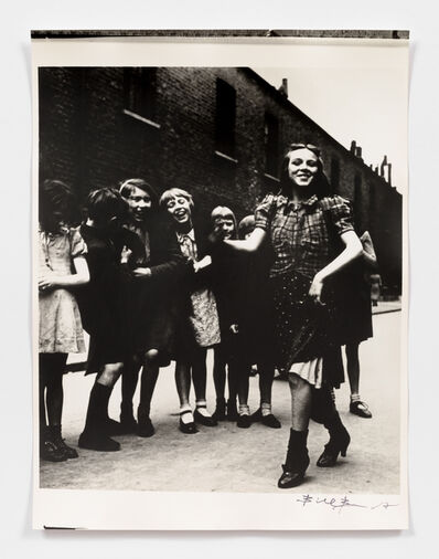 Bill Brandt, 'East End Girl dancing the Lambeth Walk', 1930s