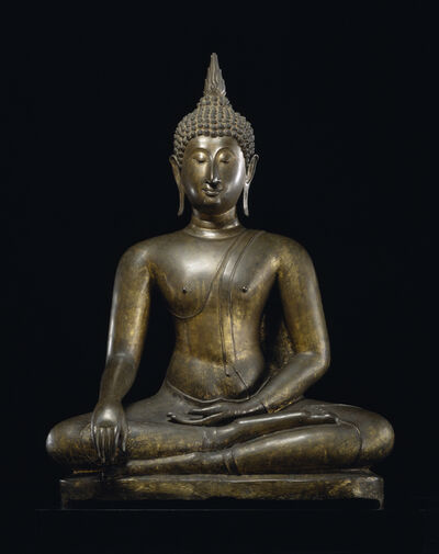 'Buddha at the Moment of Victory', 15th century