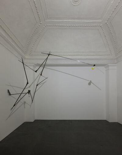 Gilberto Zorio, 'Stella di compassi', 2015