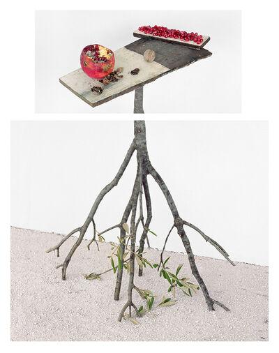 David Halliday, 'Pomegranates and Walnuts', 2017