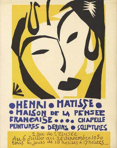 Henri Matisse, 'Maison de la Pensee Francaise', 1950