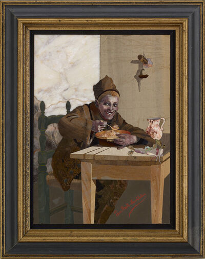 Giovanni Montelatici, 'The Chimney Sweep's Meal', ca. 1880