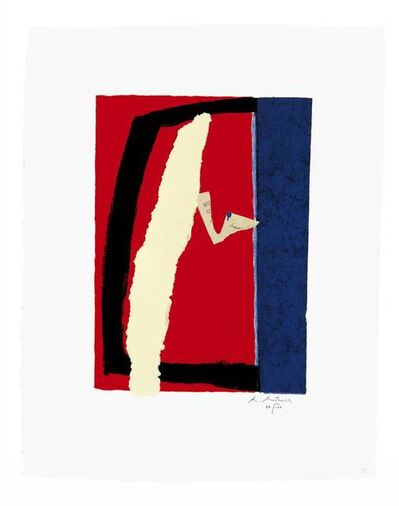 Robert Motherwell, 'Game of Chance', 1987