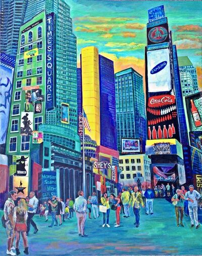 Thelma Appel, 'Times Square X', 2016