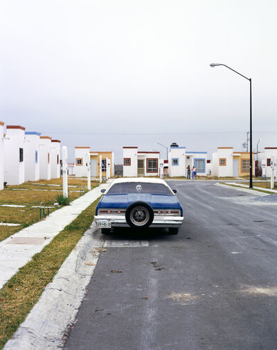 Alejandro Cartagena, 'From the series The Other Distance, Old car in Juarez suburb', 2008
