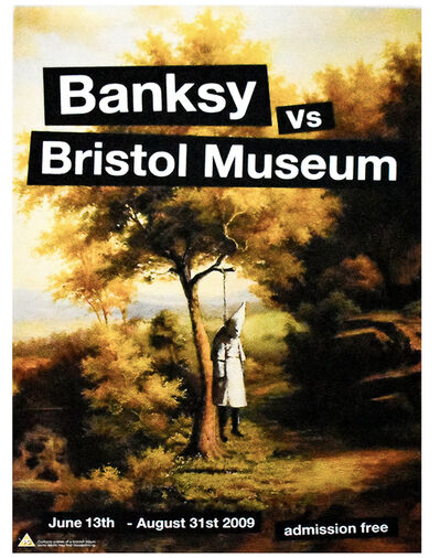 Banksy, 'KLANSMAN (Banksy Vs. Bristol Museum)', 2009