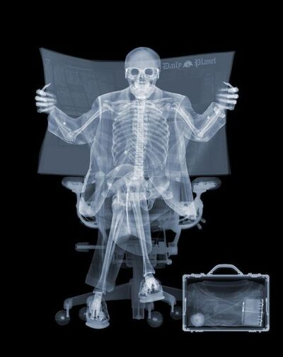 Nick Veasey, 'Superman Takes a Break', 2013