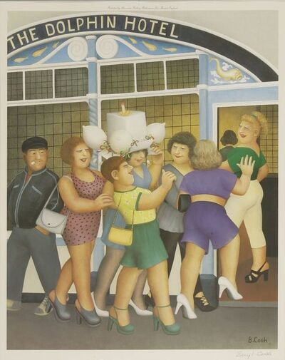 Beryl Cook, 'Hen Night'