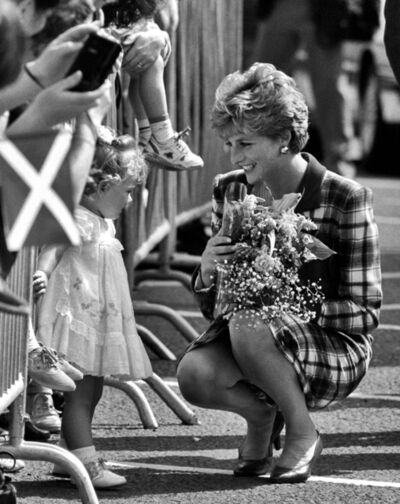 Harry Benson, 'Princess Diana, Glasgow', 1992