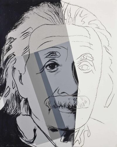 Andy Warhol, 'Ten Portraits of Jews of the Twentieth Century: Albert Einstein II.229', 1980