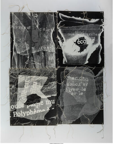 André Villers, 'Photo Collage', 1979