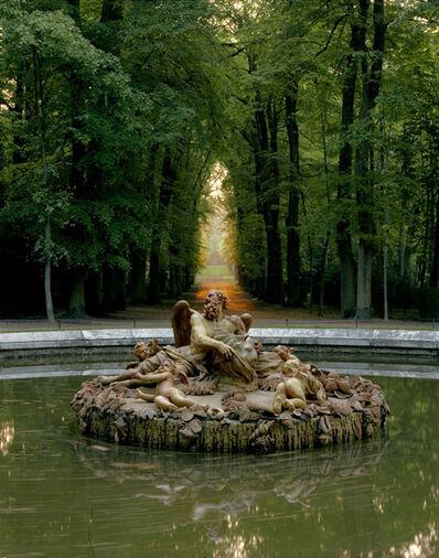 Robert Polidori, 'Bassins des Saisons, L'hiver ou Saturne by Girardon, Versailles (RP.Vers.384.5060.6)', 1985