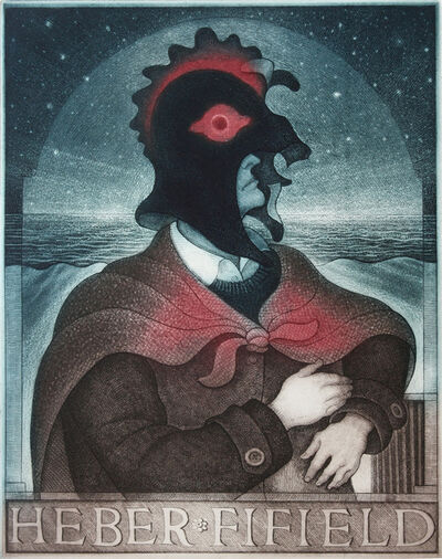 David Blackwood, 'Study for Great Mummer', 2000