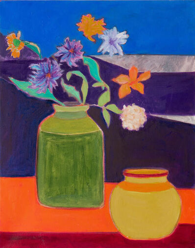 Sally Brody, 'Pots and Flowers', 2019