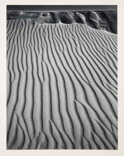 Ansel Adams, 'Sand Dunes, Oceano, California', 1950