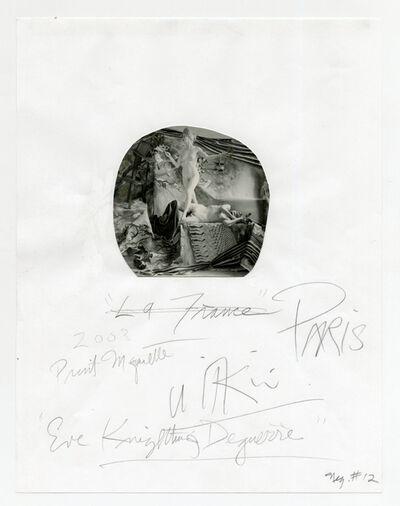 Joel-Peter Witkin, 'Eve Knighting Daguerre', 2003