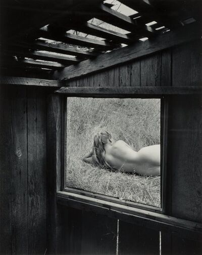 Wynn Bullock, 'Barbara Through the Window', 1956