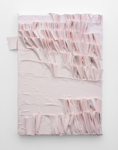 Gabrielle Kruger, 'Pleated Painting', 2019