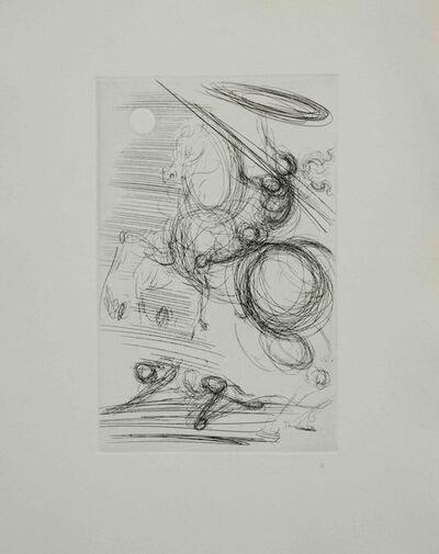 Salvador Dalí, 'Diogene en Son Tonneau', 1968