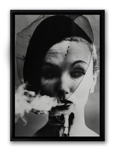 William Klein, 'Smoke + Veil, Paris', 1958