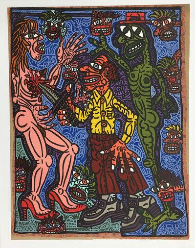 Robert Combas, 'Le meurtrier', 1996