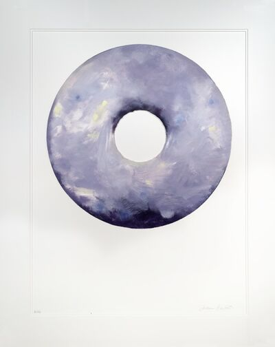 Jann Haworth, 'Lavender Cream Donut ', 2016