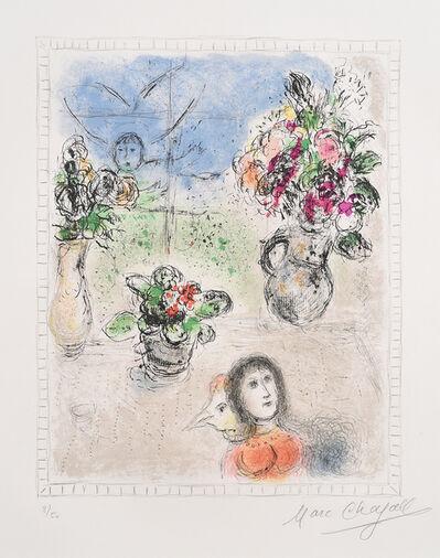 Marc Chagall, 'Les Trois Bouquets'