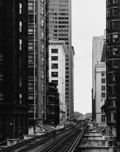 Thomas Struth, 'Van Buren Street, Chicago 1990', 1990