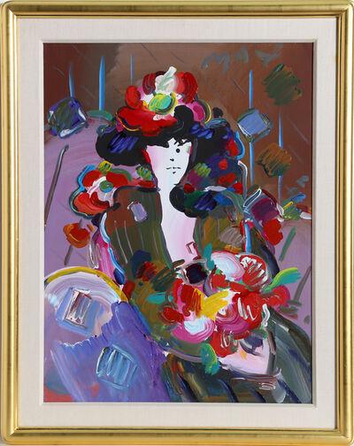 Peter Max, 'Brown Lady', 1989