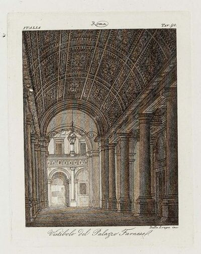Unknown, '19th Century Interiors of Palazzo Farnese', Early 19th Century