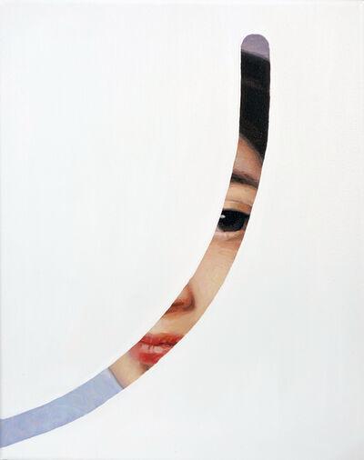 Lino Lago, 'Fake abstract white on Ingres', 2018