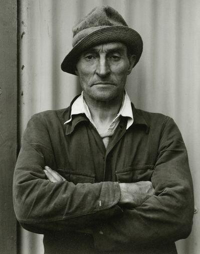 Paul Strand, 'Peter MacLellan, South Uist, Hebrides', 1954