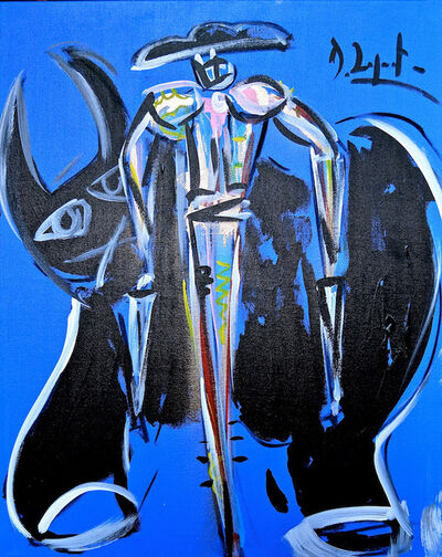 Domingo Zapata, 'Blue Wind Matador', 2015