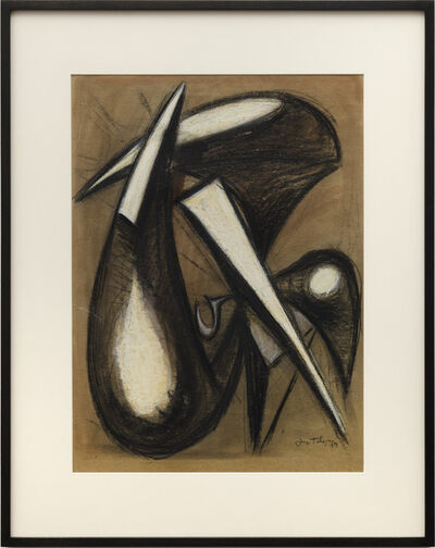 Lorser Feitelson, 'Untitled (Magical Forms: Prometheus) ', 1949