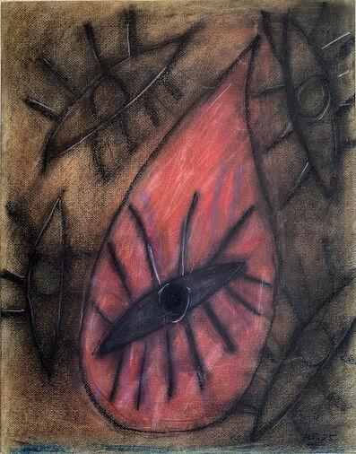 Carlos Alfonzo, 'Oja de una gota de sangre', 1985