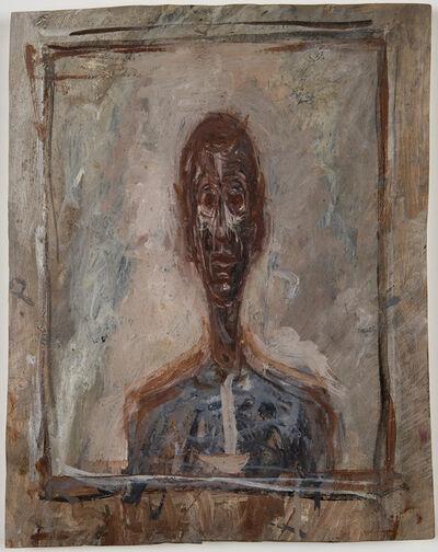 Alberto Giacometti, 'Biste d'homme dans un cadre', ca. 1946