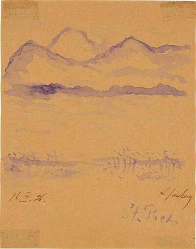 Alexej von Jawlensky, 'Saint Prex am Genfersee (St Prex on Lake Geneva)', 1926