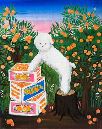 Claire Milbrath, 'Orange Dream', 2020