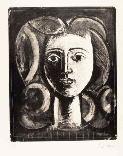 Pablo Picasso, 'Tête de jeune fille', 1947