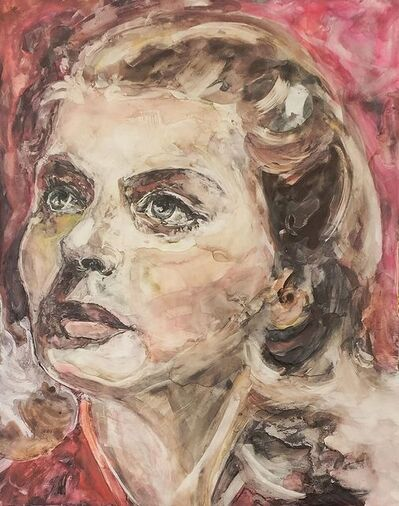 """Patty Rooney, '""""I've gone from saint to whore and back to saint again, all in one lifetime."""" -- Ingrid Bergman', 2017"""
