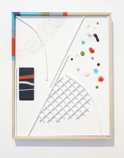 Brett Flanigan, 'Grid, grit.', 2015