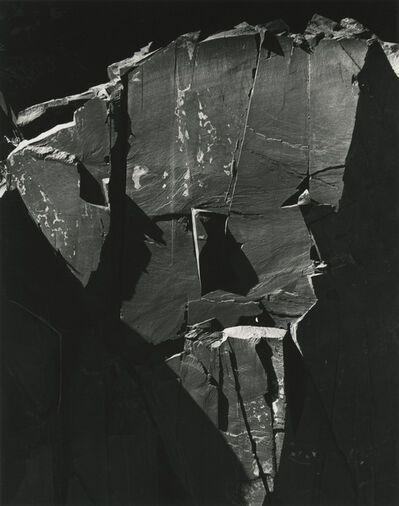Brett Weston, 'Rock Wall, Westgard Pass, California', 1971