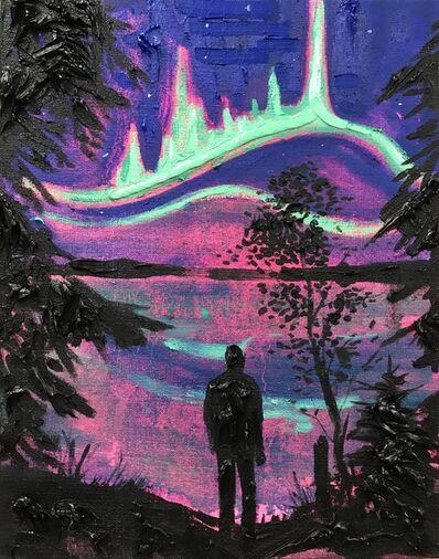 Kim Dorland, 'Waskesiu Lake 1991', 2017