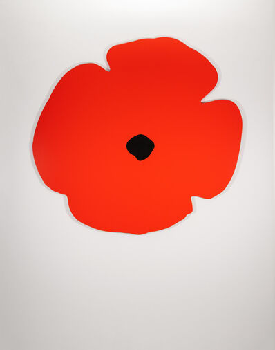 Donald Sultan, 'Wall Poppies (red)', 2020