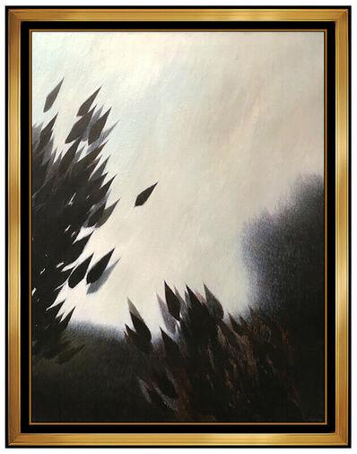 Robert Kipniss, 'Robert Kipniss Large Oil Painting On Canvas Original Signed Landscape Artwork', 20th Century