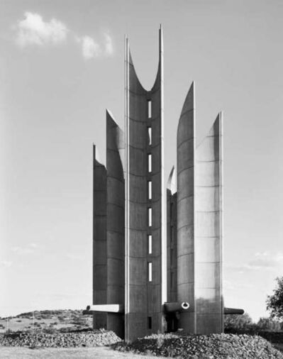 David Goldblatt, 'Monument to the Voortrekkers, Winburg, Orange Free State.', December 27-1990