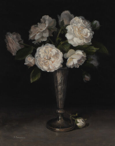 Susan Paterson, 'Tarnished Vase and Roses', 2019